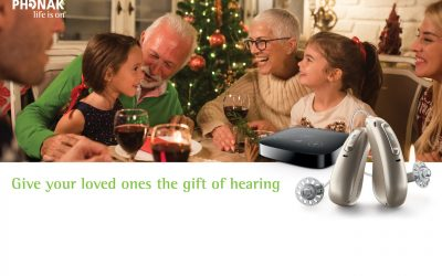 Give yourloved ones theGift ofHearing this Christmas with Kingsbridge Hearing Care